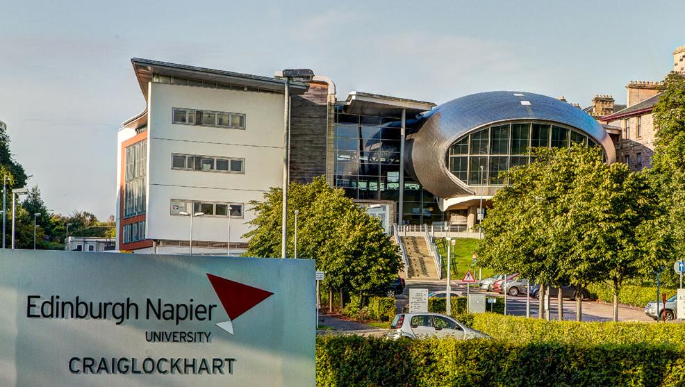 Edinburgh Napier Uni pilots innovative post-award research management features