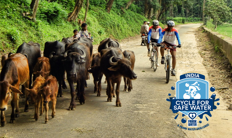 Worktriber takes on 400km India cycle challenge